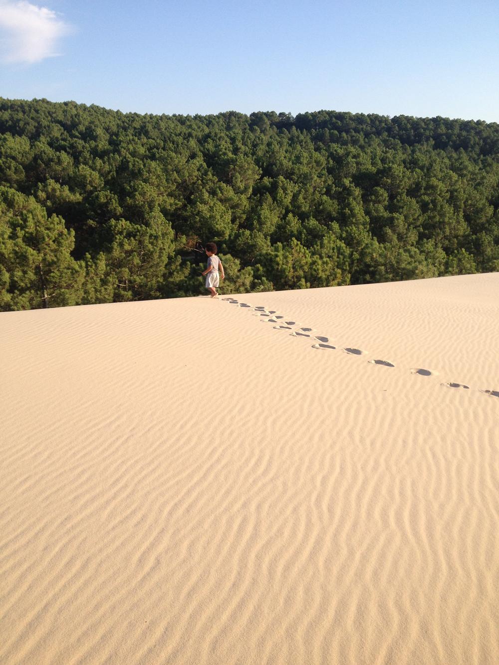 La dune du pilat le bassin des petits - Camping dune du pyla avec piscine ...