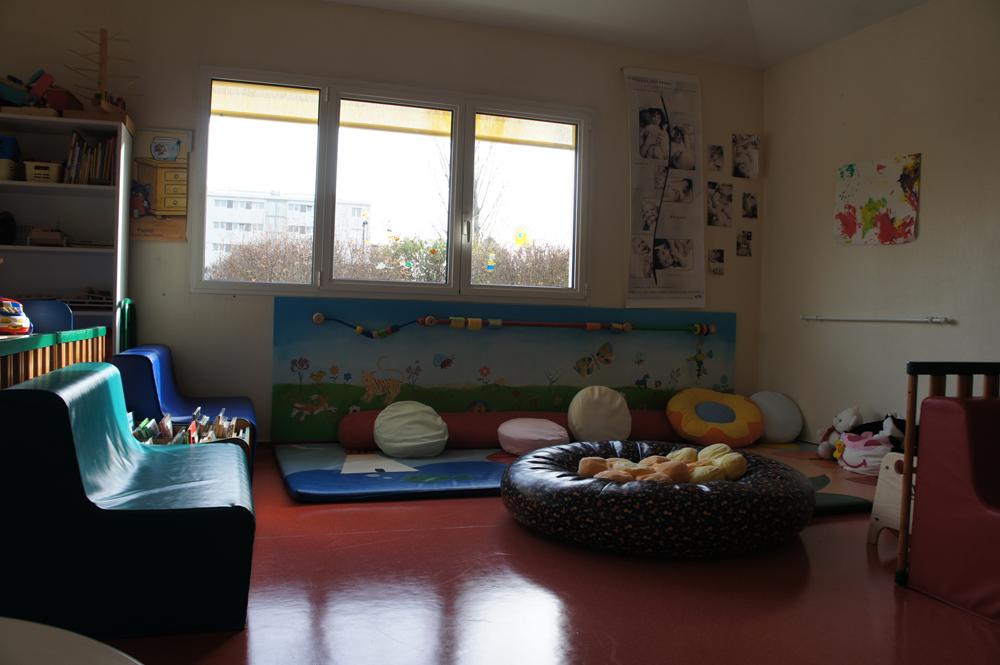 Espace cocooning pour les petits au LAEP de La Teste de Buch