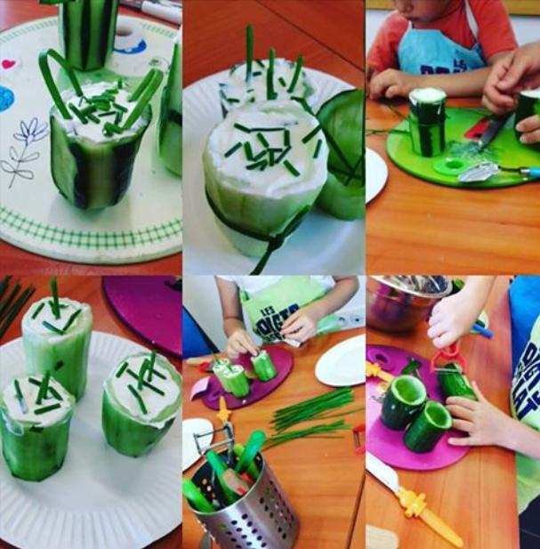 Atelier cuisine enfant à Arès, vraies vacances