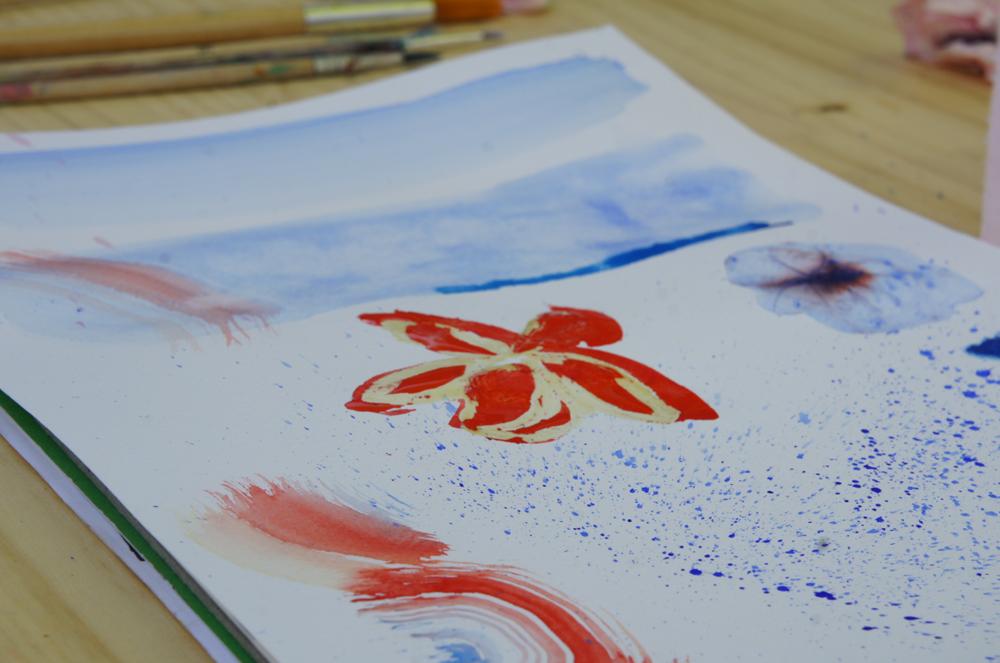 Arts plastiques enfants bassin arcachon