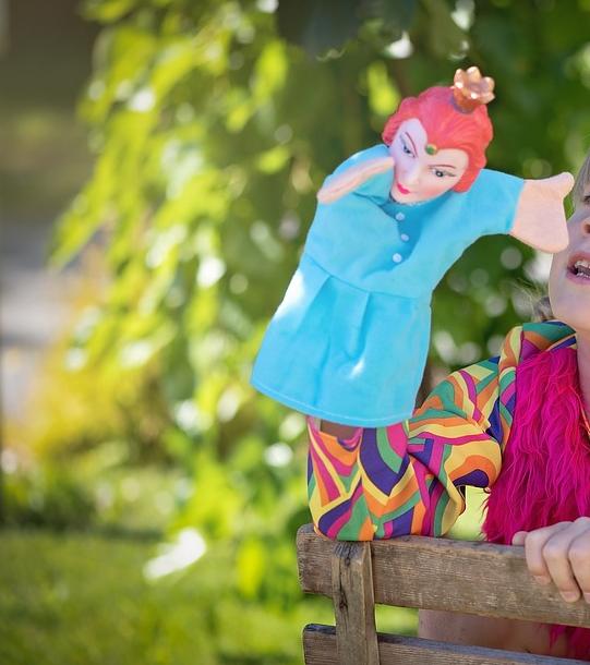 Confection de marionnettes chez Poeme en coton