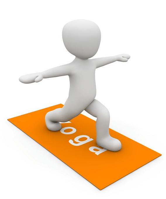posture yoga, coordination